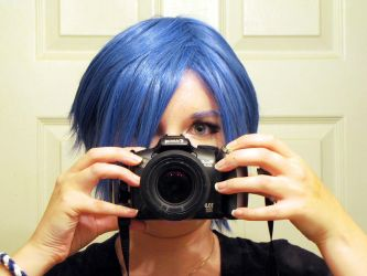 Self Portrait :: BLUE by magneticjade
