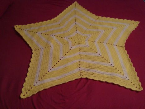 Star Baby Blanket by Angie85
