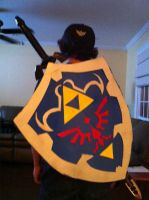 Link Cosplay WIP by SonicLucario