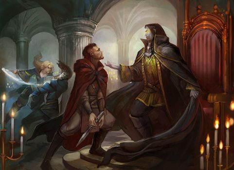 Dungeons and Dragons: Rules Compendium 2 by juliedillon