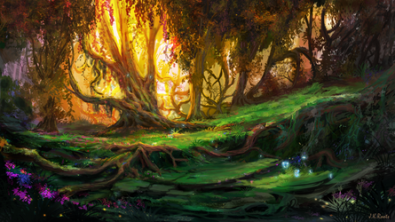 Enchanted Forest 3 by JKRoots
