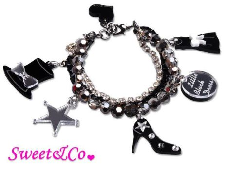 LBD x SweetnCo Charms Bracelet by SweetandCo