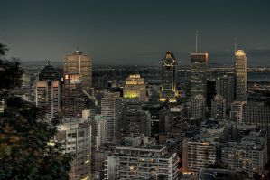 Faded city HDR by Dje514