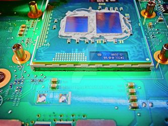 CPU and notebook motherboard by attilasebo