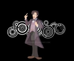 The Eleventh Doctor- It's all very sciencey! by BuzzingB