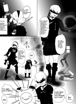 Nier Automata - Shopping arc page 3 by gonline