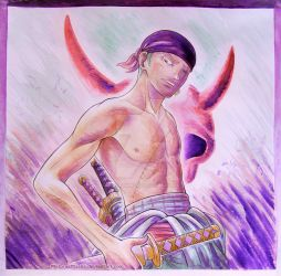 First Mate (Zoro from one Piece) | GIFTART by MajorasMasks