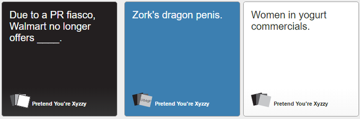 Cards Against Humanity 358 by thetrollsapprentice
