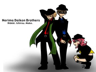 Nerima Daikon Brothers by liliy