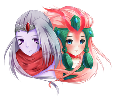 Varus and Nami by genacinth