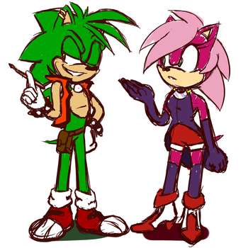 sonia manic redesigns by sonicstarr