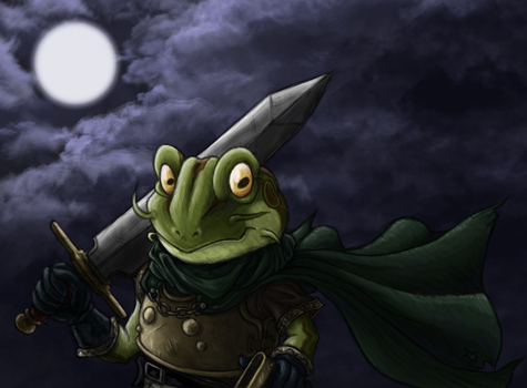 Night of the Frog by rustyyy