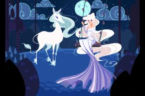 The Last Unicorn by Olive-In-Pinkland