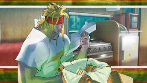 STREET FIGHTER V - Character History - Alex (4) by Zeref-ftx