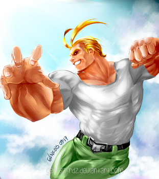 All Might by genesis-rdz