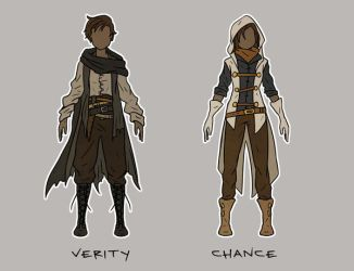 Verity and Chance by spectre-draws
