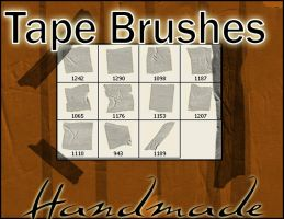 TapeBrushes by crimecontrol
