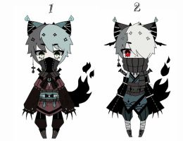 kemonomimi batch adoptable closed by AS-Adoptables