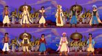 Aladdin Wardrobe Compilation by dcfan0590