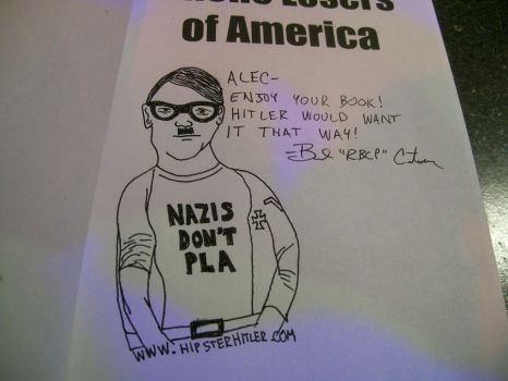 Hipster Hitler by rbcp