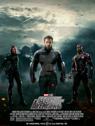 Marvel's Secret Avengers movie poster by ArkhamNatic