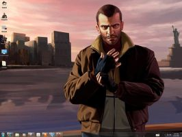 GTA IV Windows 7 Theme by yonited