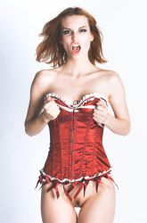 Punk Corset by BoholmPhotography