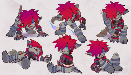 Sora Monster by Uzucake