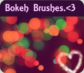 Bokeh brushes 2 by asphyxiate-Stock