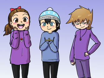 my sweater bbys by MeowMix72