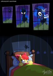 Apple Bloom's Nightmare by mysticalpha