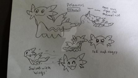 #124: Pelaucus by GoldLeafSnivy