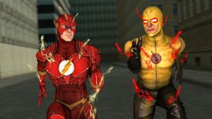 The Flash vs Reverse Flash by kongzillarex619