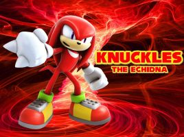 Knuckles the Echidna - Wallpaper by Knuxy7789