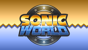 Sonic World Logo Remake by Mauritaly