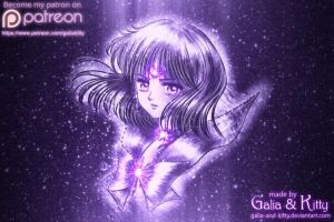 Sailor Saturn, Soldier of Destruction by galia-and-kitty