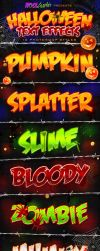 Halloween Text Effects - PS Styles by KoolGfx