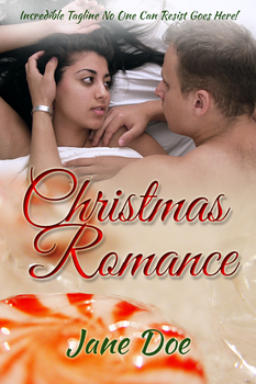 Christmas Romance Ebook Cover by camarilladee