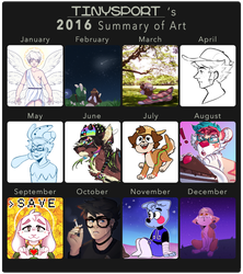 i stopped drawing april-july by davekin