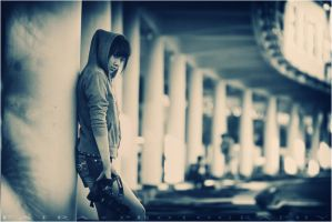 One Pose With My camera by Psikophat
