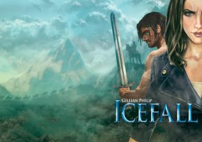 Icefall book cover by Lawrence Mann by LawrenceMann