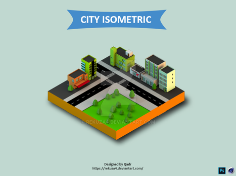 City Isometric by rekuza4