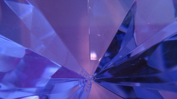 Inside a Purple Crystal by AnonymousRabbitLover