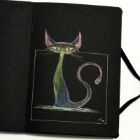 Black Book 03 - Cat by rod-roesler