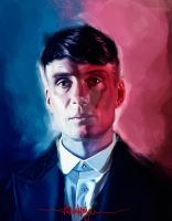 Tommy Shelby - Peaky Blinders by KevinMonje
