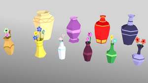 Vases pack by Daragos90