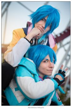DRAMAtical Murder - Desire and Aoba by DeathWrathAngel