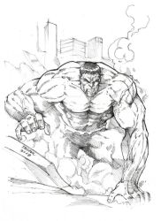 The Incredible Hulk Pencils by DaggerPoint