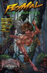 prymal cover new page  The Visitor by MaelstromMediaComics