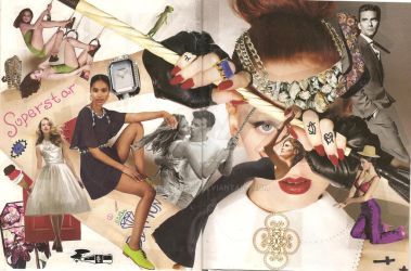 Rope Magazine Collage by JennyPeace